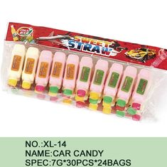 China Different Color Healthy Candy Sugar Powder Novelty Car Shape Eco - Friendly factory