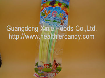 China Multi Fruit Flavor Long CC Stick Candy / Sweets Lowest Calorie Candy Bar factory