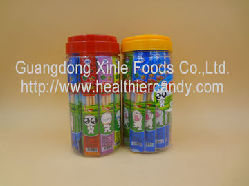 China Watermelon / Mango Flavored Candy Stick Sweets Fresh Safety For Supermarket factory