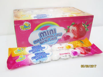 China 7 in 1 Steamed Bun Shape Soft And Sweet Marshmallows factory