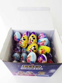 China 7g Chocolate Egg Funny And Lovely Kids' Snack Pop Snacks Taste Sweet And Crisp factory