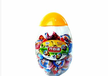 Happy Egg Toy Candy With Kinds Of Toy , Christmas Novelty Candy