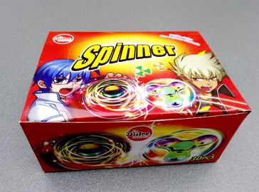 China Nice Taste Spinner Candy With Funny And Lovely Shape , Kids Love factory