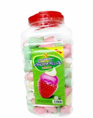 China Sweet and soft Marshmallow Candy / Strawberry flavor and Ice Cream Shape Marshmallow factory
