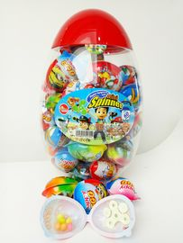 Toy Egg Candy Happy Egg Multi Fruit Flavor Candy Jelly bean With Lovely Mini Spinner Toy candy
