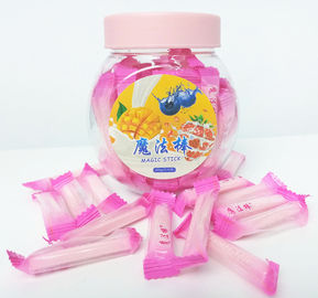 China good quality Pink Magic Stick Healthy Hard Candy , 4g Strawberry Hard Candy on sales