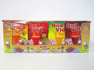 China 4 flavors in 1 box / 5g Instant Drink Powder / Yummy Multi Fruit Flavor Juice Powder factory