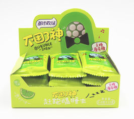 China Tic tac style package/ Low Fat Lime Flavor Sugar Free Mint Candy ,Rich in Vitamin C factory