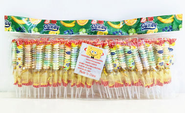 China 3g Compressed Candy , Multi Fruit Flavor Small Brochette Candy factory