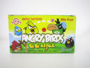 China 5G Angry Bird CC stick with lovely tattoo/ Good quality with good price Africa Candy Best seller factory