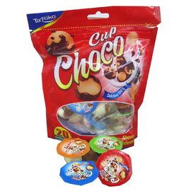 China Healthy Chocolate Chips Cookies Star Cup In Bag For Kids Bag Pack factory