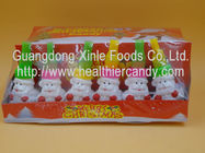 China Santa Claus Sweet Crispy Mini Chocolate Beans Multi Color Low Energy 7g * 24 Pcs factory