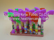 China Multi Color Gun Toy Candies / Tablet Candy With Sugar Particle Texture company