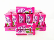 Kiss Candy Strawberry With Mint Flavor Compressed Mint Candy Fresh Your Mouth