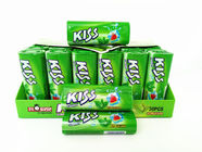 China Energy Compressed Candy / Kiss Candy Watermelon And Mint Flavor company