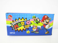 China Super Mario CC Stick Candy With Lovely 3D Super Mario Pictures Toy factory