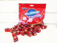 2.75g Cube Shape Strawberry Flavor Milk Candy In Bag Healthy And Yummy supplier