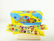 Sweet Rood Multi Friut Flavor Short CC Stick Candy Lovely Package With Good Taste