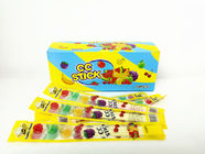 2.58g Multi Friut Flavor Short CC Stick Candy Lovely Package With Good Taste
