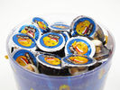 4g Star Chocolate Cup In PVC Jar Sweety Chocolate With Crispy Cookie supplier