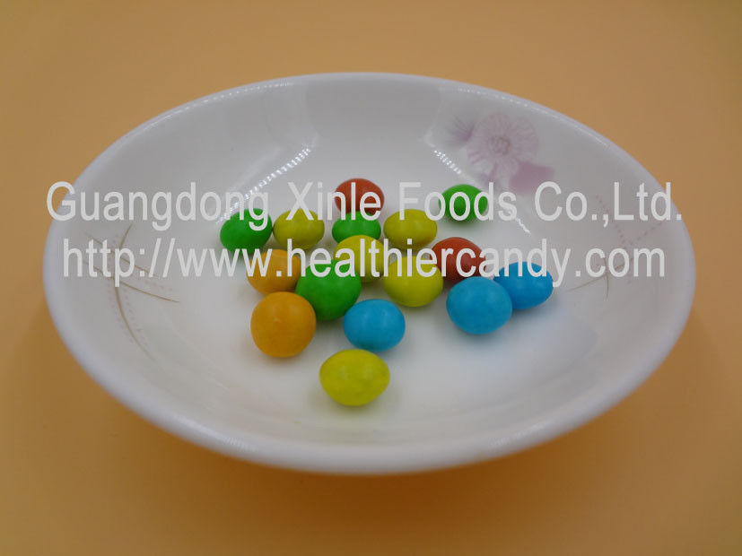 Fermenting Cacao Mini Chocolate Beans Personalized Candies With Available Color supplier