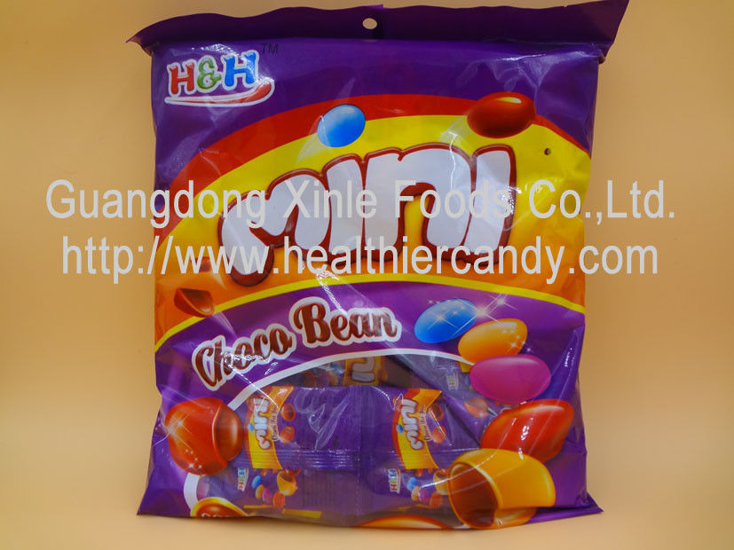 5g Colorful Mini chocolate bean candy Sweet and Nice taste individual packing/ISO,HACCP supplier