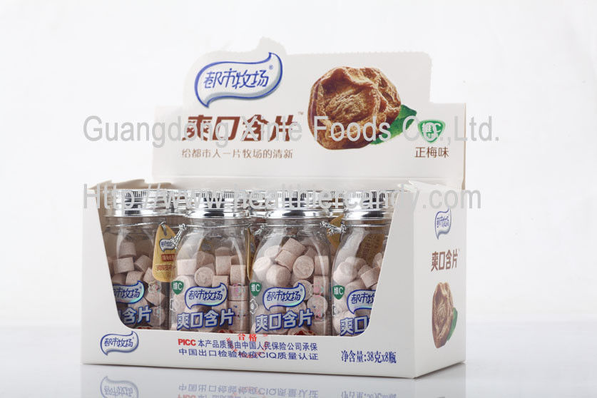 Selected Original Preserved Plum Candy / Sweets Sour Taste Chinese Plum Flavor