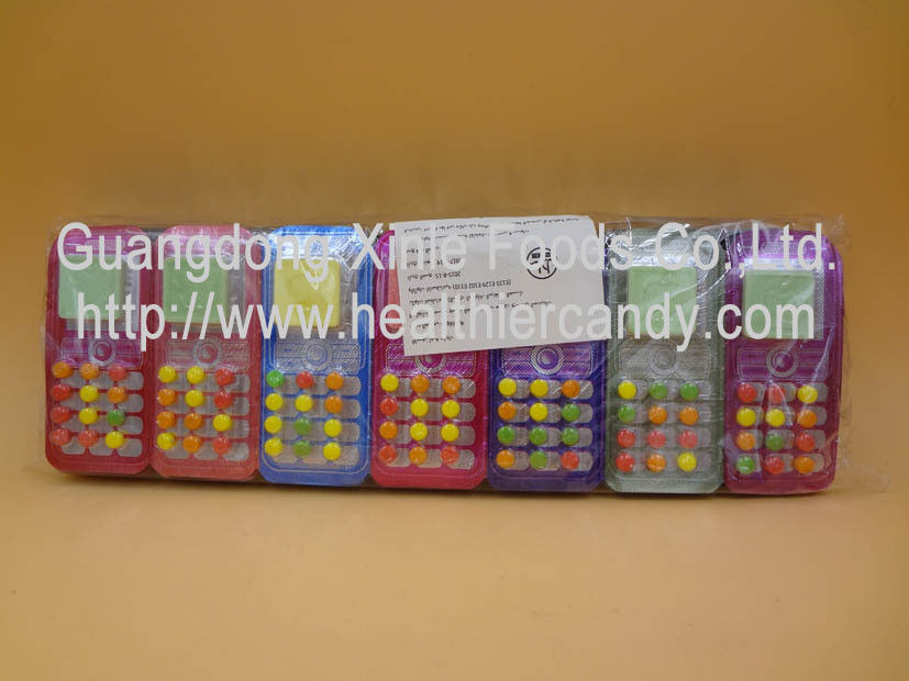 Colored Glucose Novelty Candy Toys , Small Round Funny Candy Sweets