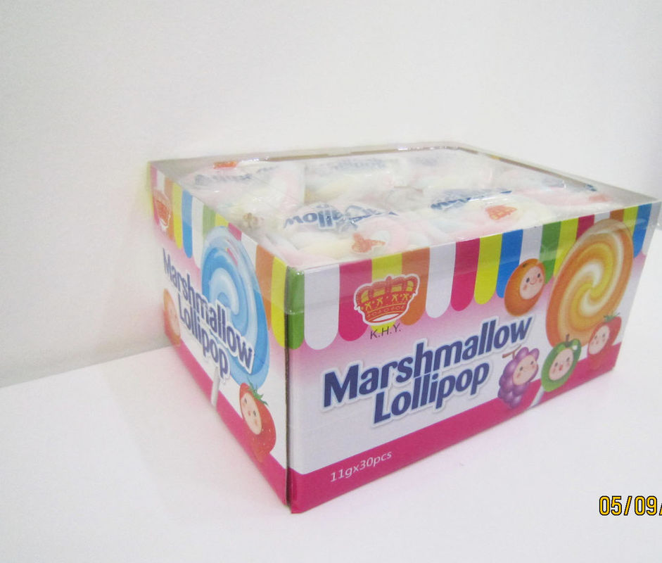 Soft candy Marshmallow Candy , 11g Colored Marshmallow Lollies With Sweet Llavor supplier