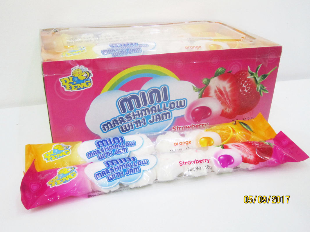 7 in 1 Steamed Bun Shape Soft And Sweet Marshmallows supplier