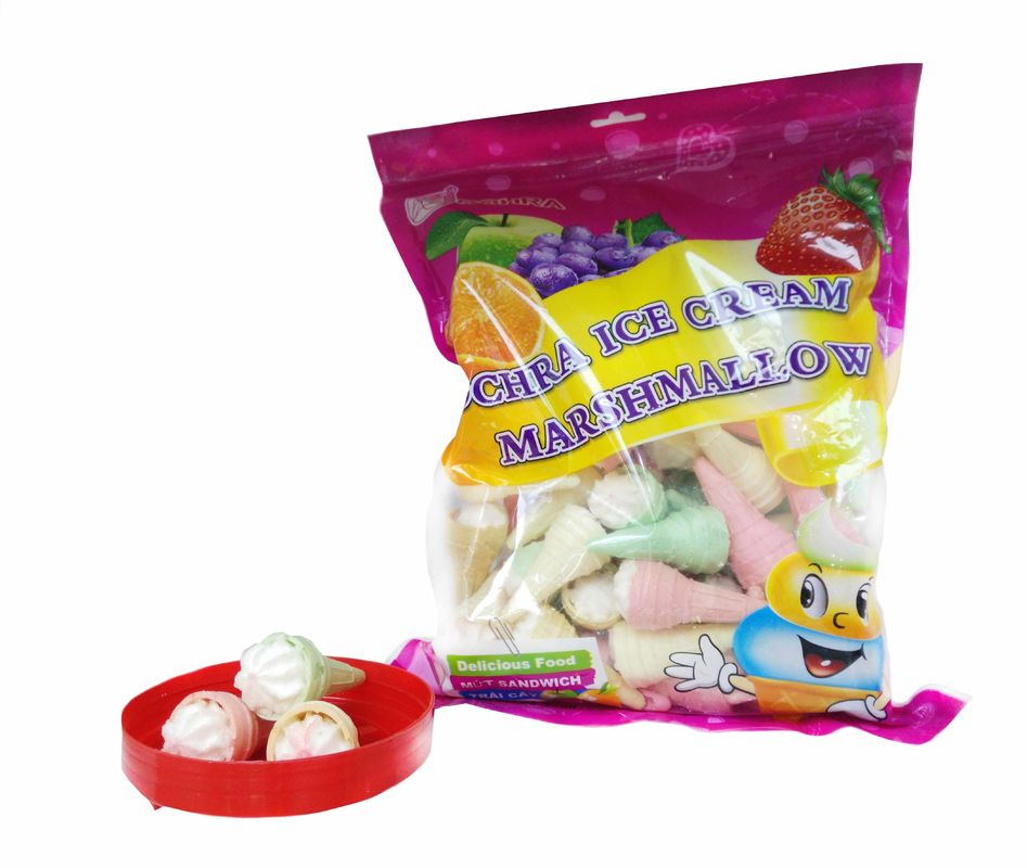 Snack Ice Cream Marshmallow In Bag Nice Taste and Sweet Kids' Love Soft and sweet supplier