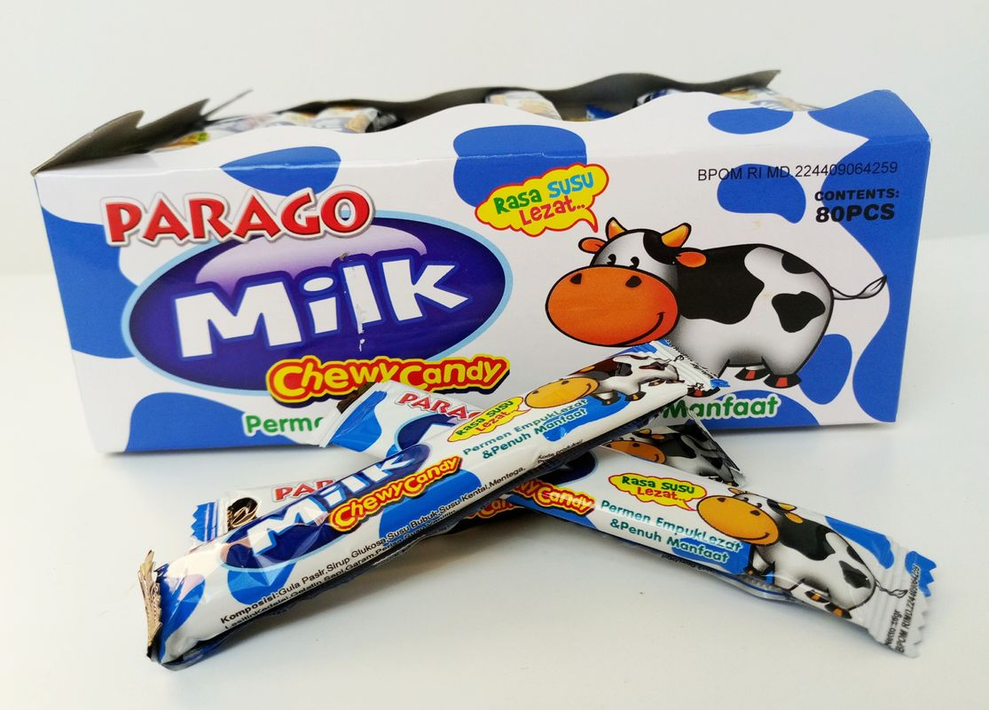 Eco-friendly Parago Soft Milk Candy Healthy And Sweet Hot sell good price milk candy supplier
