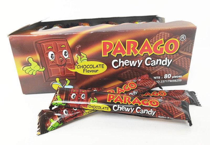 Halal Gummy Soft Milk Candy Parago Deep Chocolate