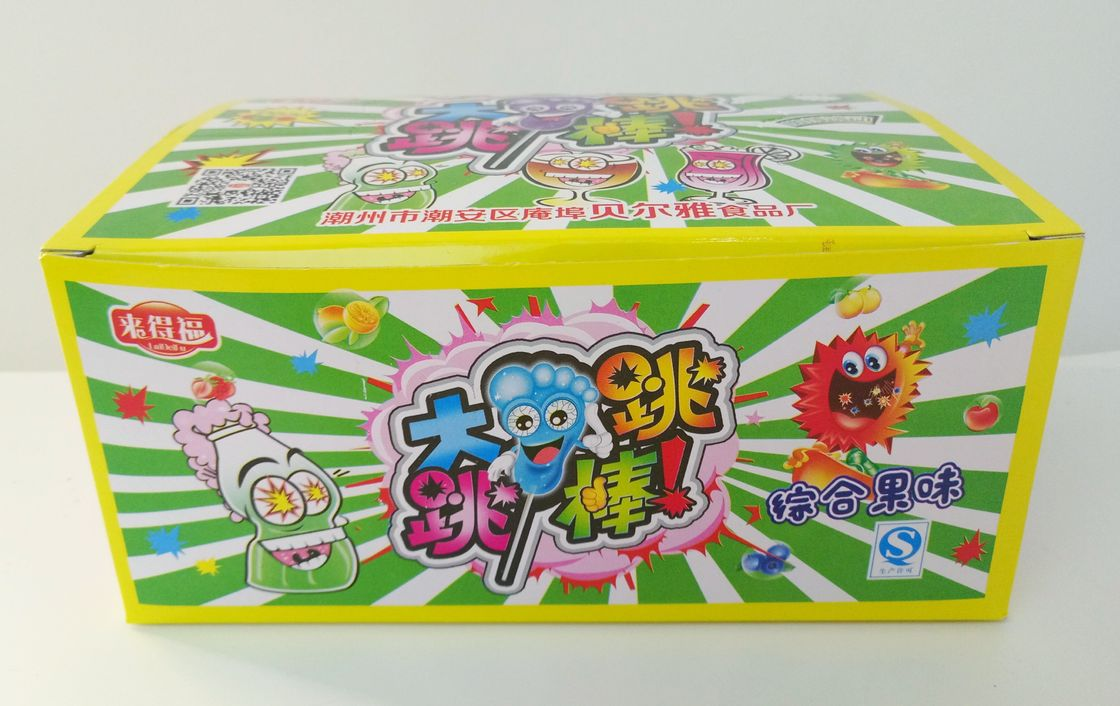Poping Candy with Foot shape Lollipop / Sour Poping Candy Good Taste And Funny supplier