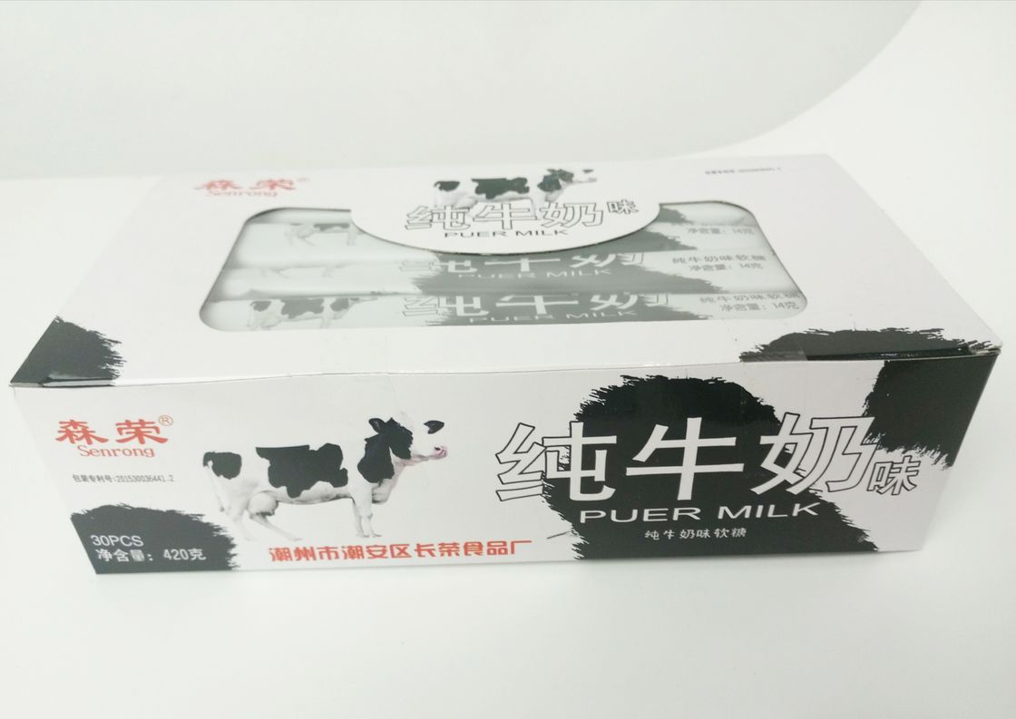 OEM Soft healthy Long Soft Milk Candy , Keep In Cool And Dry Place Kids milk candy supplier