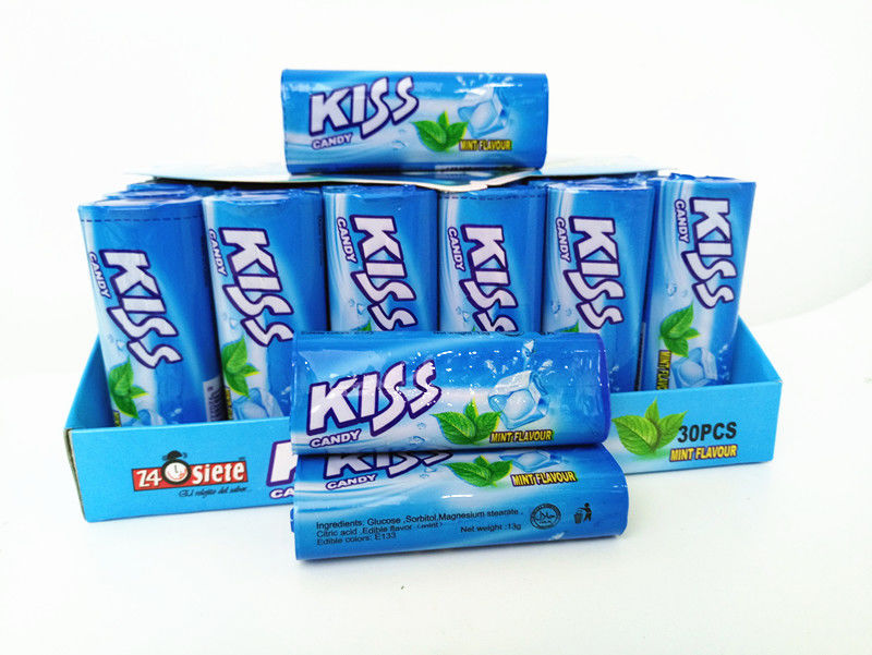 Kiss Compressed Mint Candy 4 flavor for children and adult HALAL supplier