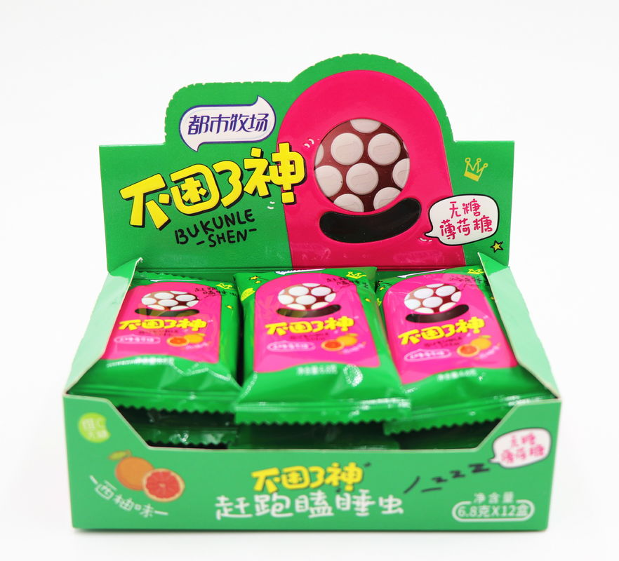 Portable package Sugar Free mint candy / Rich in Vitamin C in Tic tac style package/ Fresh breath supplier