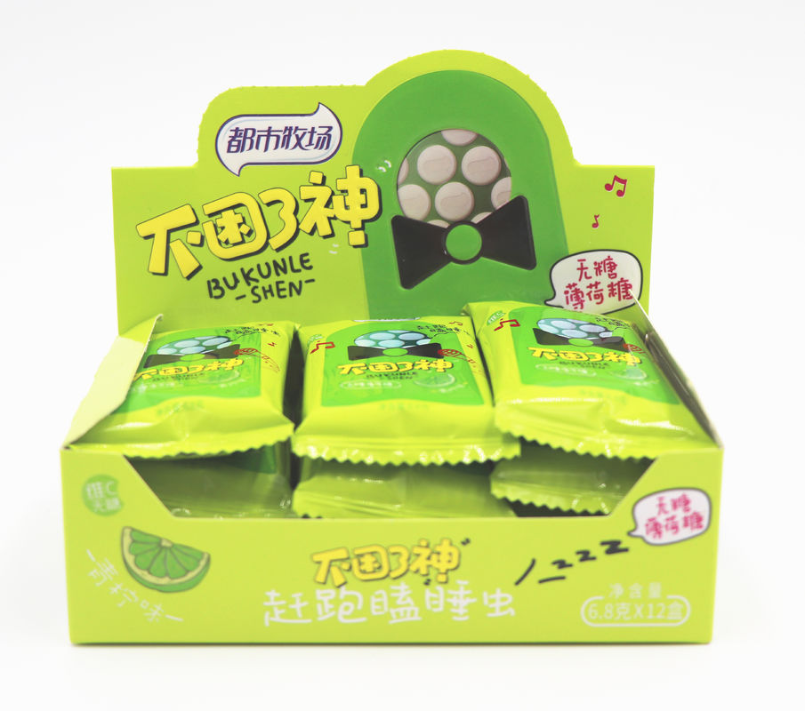 Pepper mint Healthy Lime Flavor Sugar Free Mint Candy ,Rich in Vitamin C