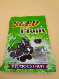 Green Preserved Chinese Dried Plum Salty Popular Organic Snack Foods