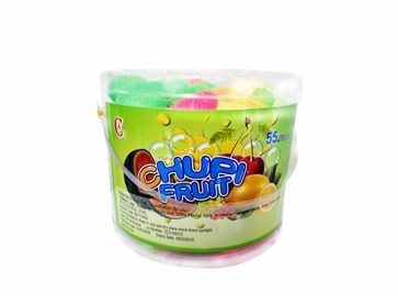 Multi Fruit Shaped Sour Candy Powder Holiday Chocolate Fruity Sweet Candy