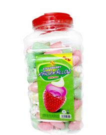 Lovely Marshmallow Candy Sweet and Soft Strawberry Ice Cream Shape
