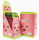 16g Cooling peach flavor Sugar Free Mint Candy in Portable Sachet Pack Vitamin C hard candy