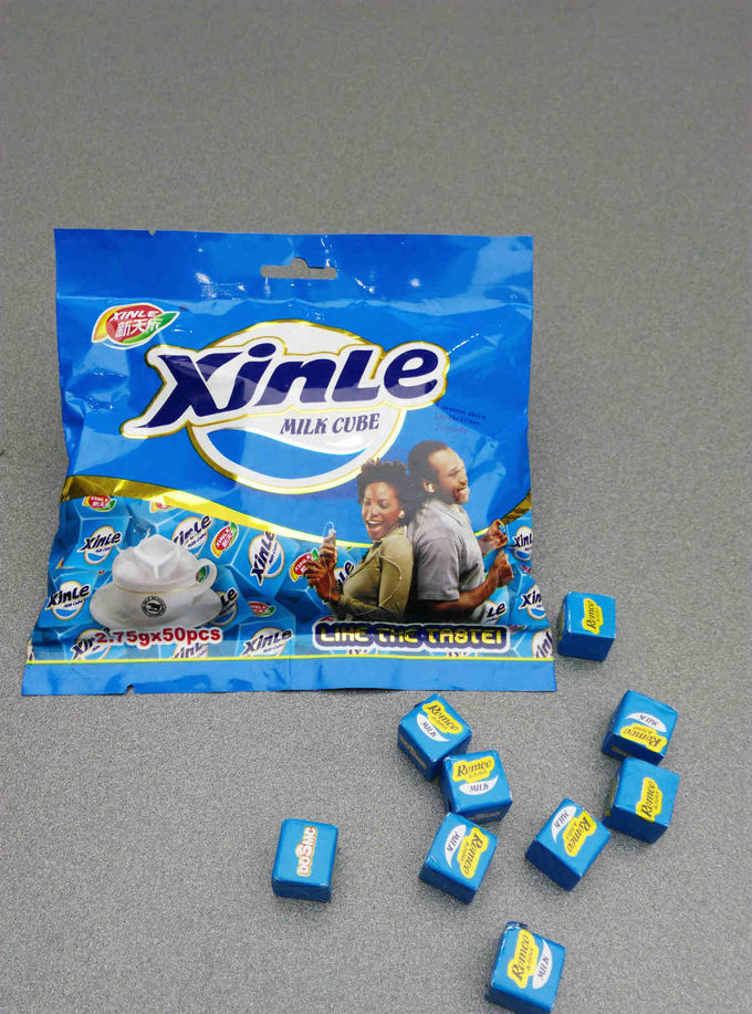 Cube Milk Flavour Healthy Chewy Milk Candy Taste Delicious