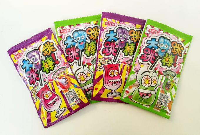 Poping Candy with Foot shape Lollipop / Sour Poping Candy Good Taste And Funny